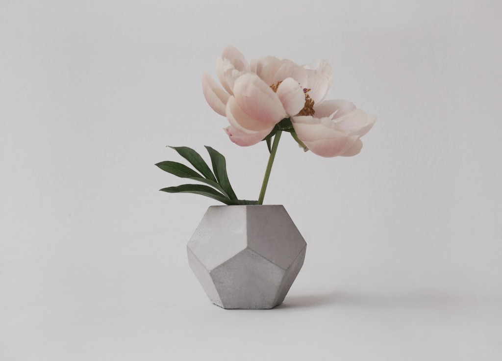 Handmade Concrete Accessoires from Klara Schuster/ Handgemachtes aus Beton bei Klara Schuster