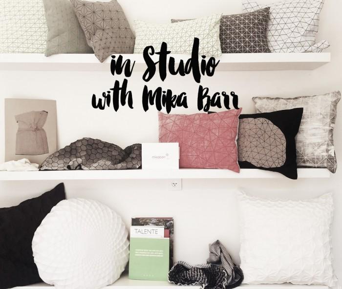 Inspirring Interview with Mika Barr / Mika Barr über Erfolg und Designprozess