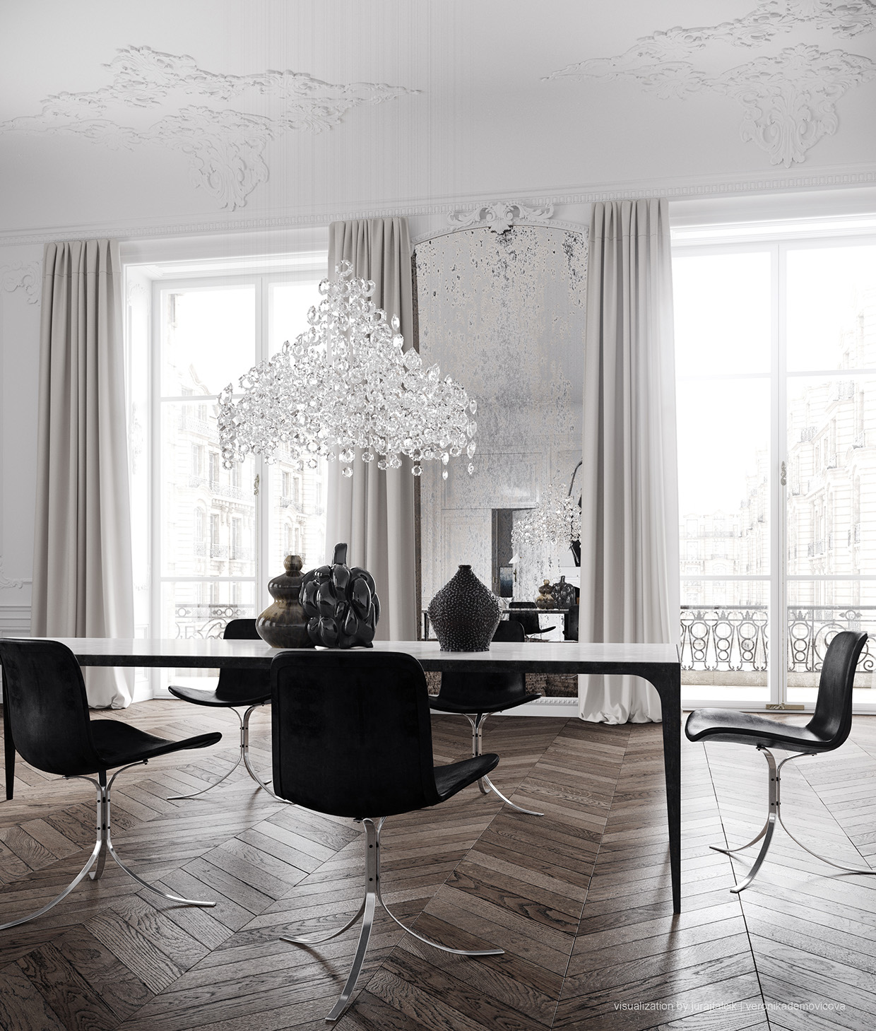 Dream Paris Apartment Interior Design by Jessica Vedel on Designsetter Blogazine