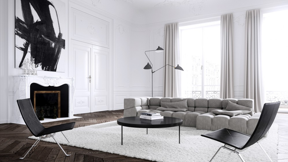 Dream Paris Apartment Interior Design by Jessica Vedel