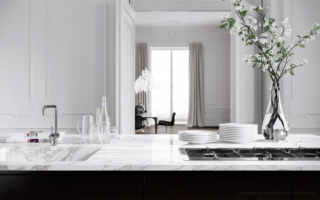 Dream Paris Apartment Interior Design by Jessica Vedel on Designsetter Blogazine