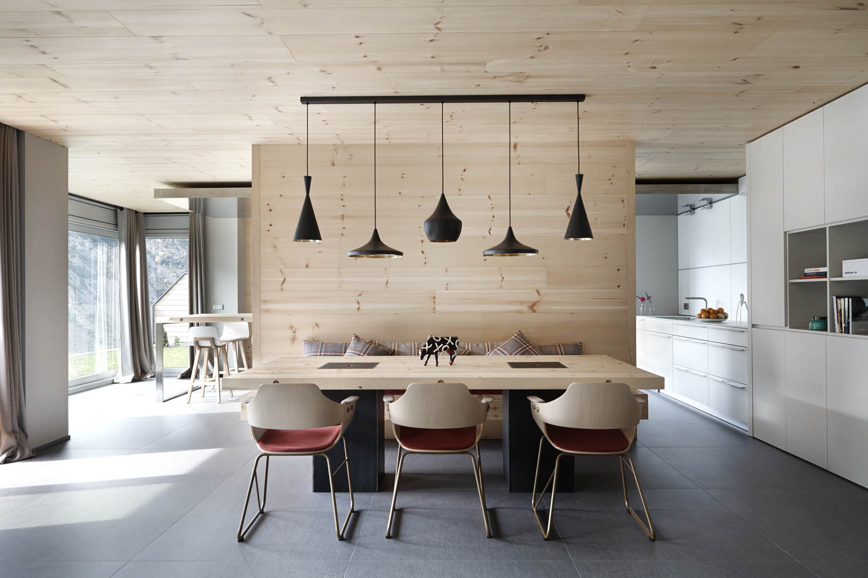 ideas for inner architecture with wooden elements