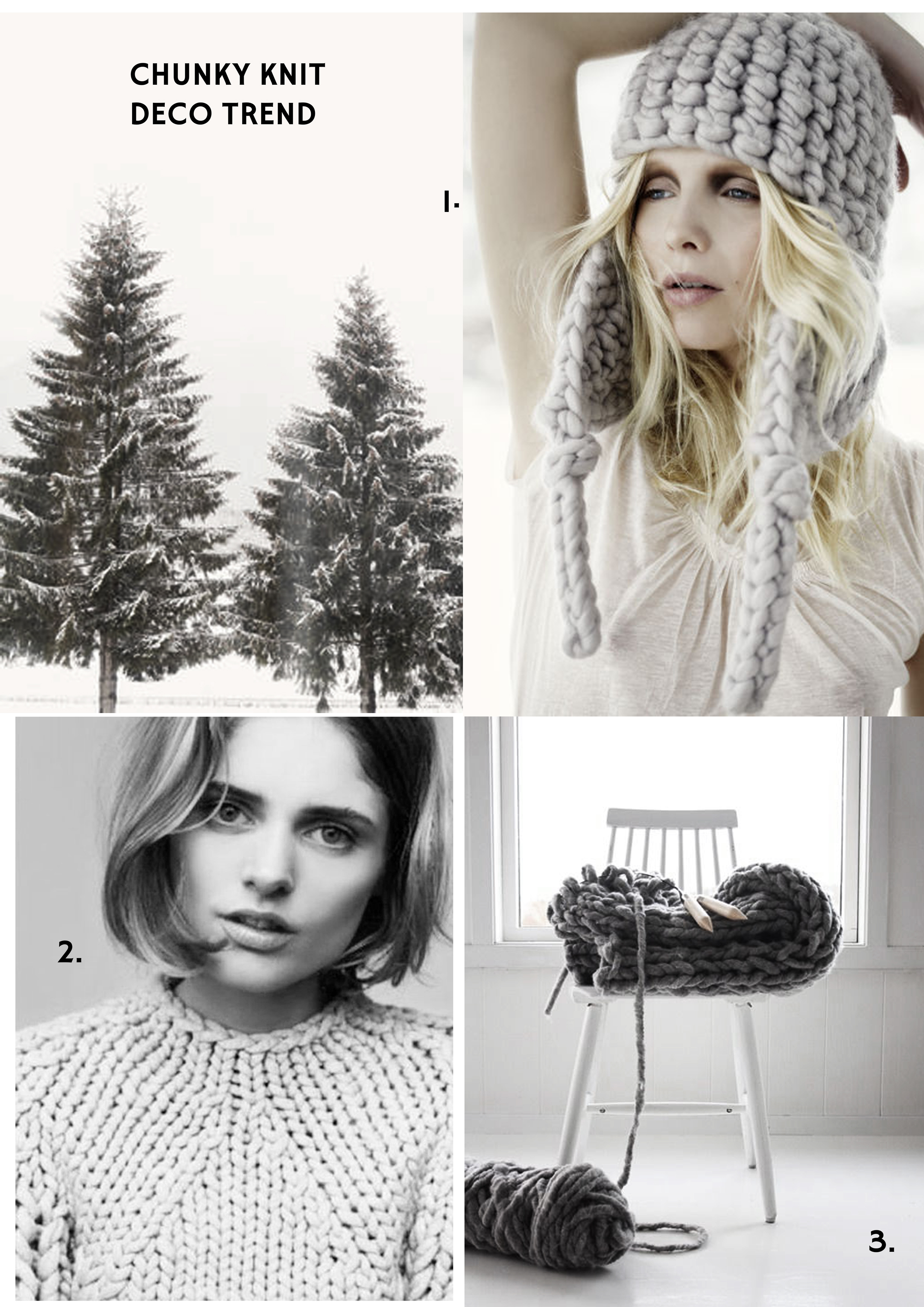 Interior Trend - Chunky Knit