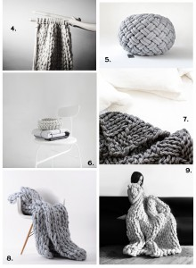 Chunky Knit Interior Trend