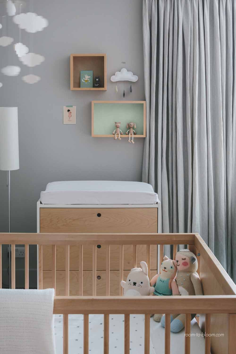 Interior design for children's rooms