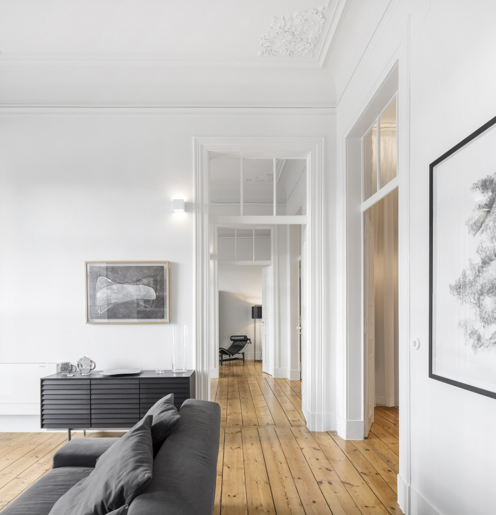 The Beauty of Modernizing an Architectural Heritage – Apartment NANA. Lisbon, Portugal