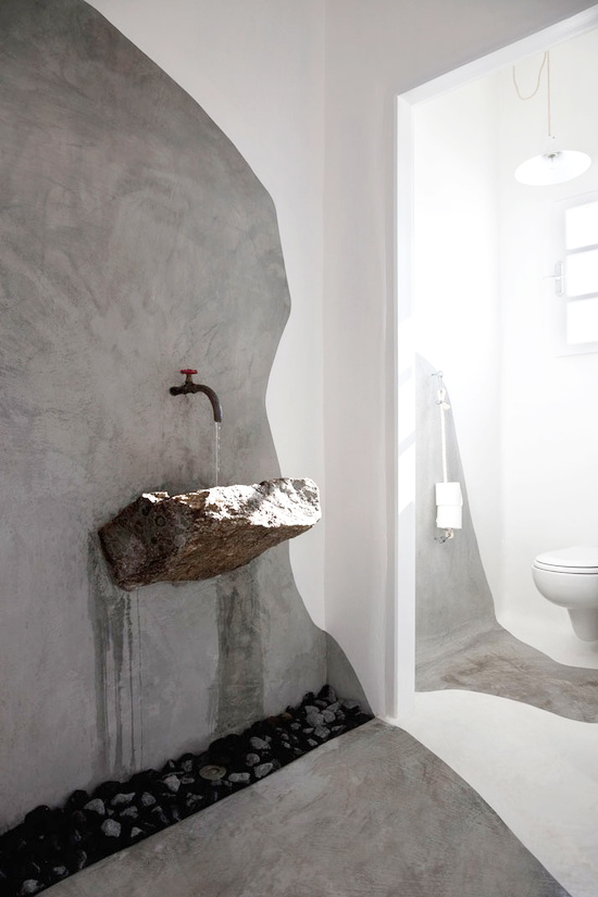 Design Inspired by Nature – Stone Washbasins