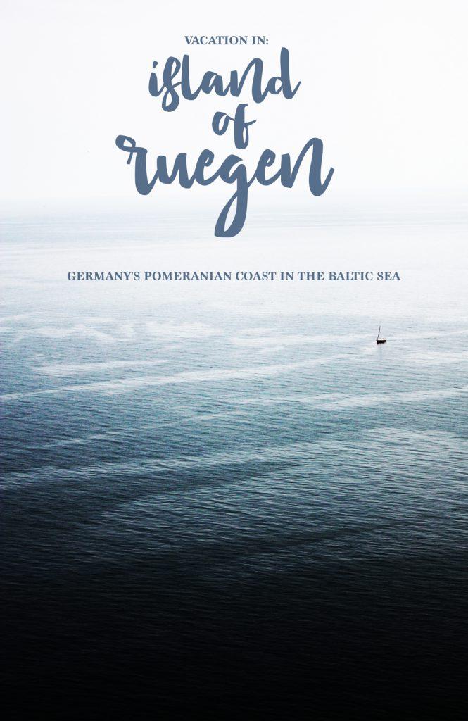 Travel: Germany's Largest Island Ruegen in the Pomeranian coast in the Baltic Sea