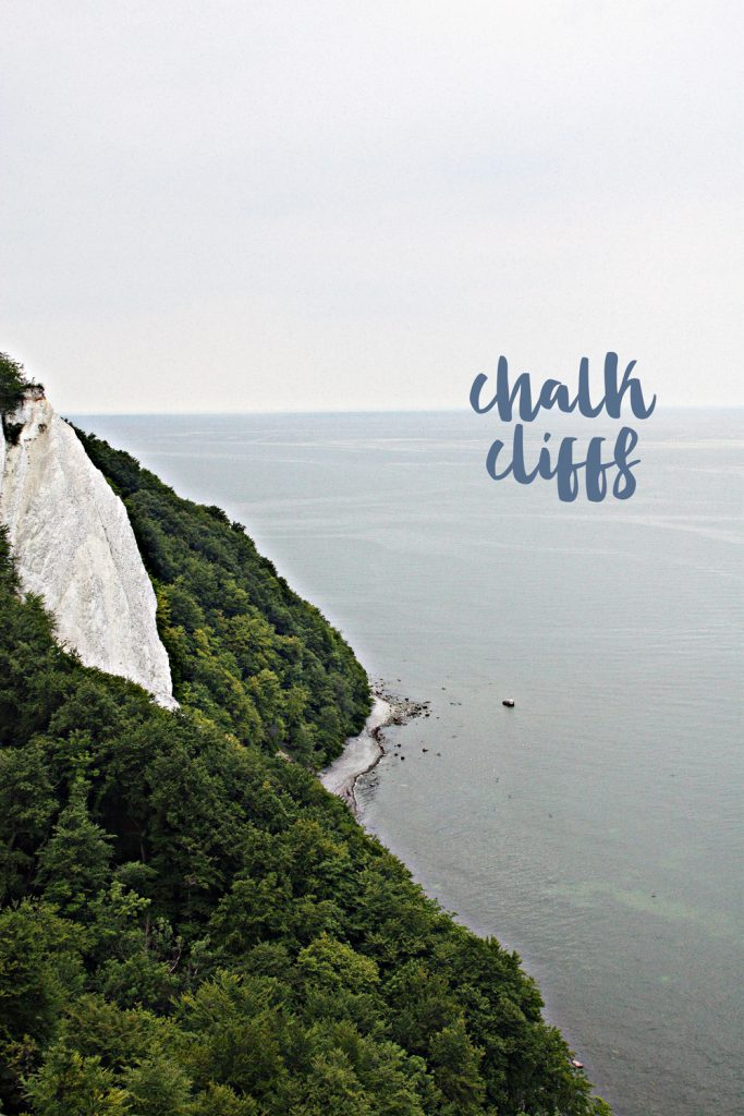 Chalk Cliffs Island Ruegen Germany