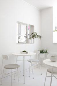 BYOH Copenhagen's New Matcha Bar, Minimalist Interior, Norm Architects