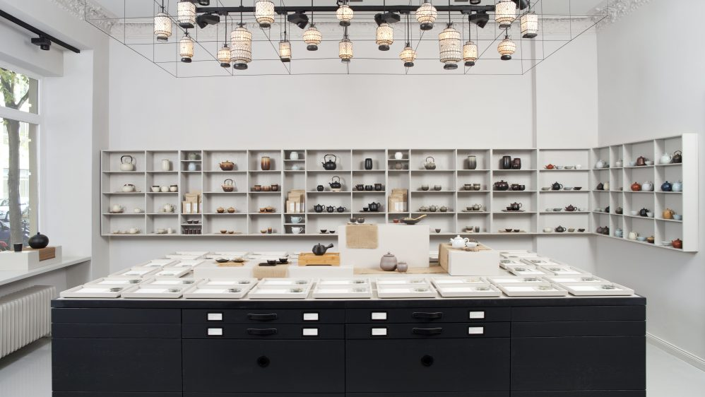 Design, Purism & Tea at P & T Concept Store Berlin