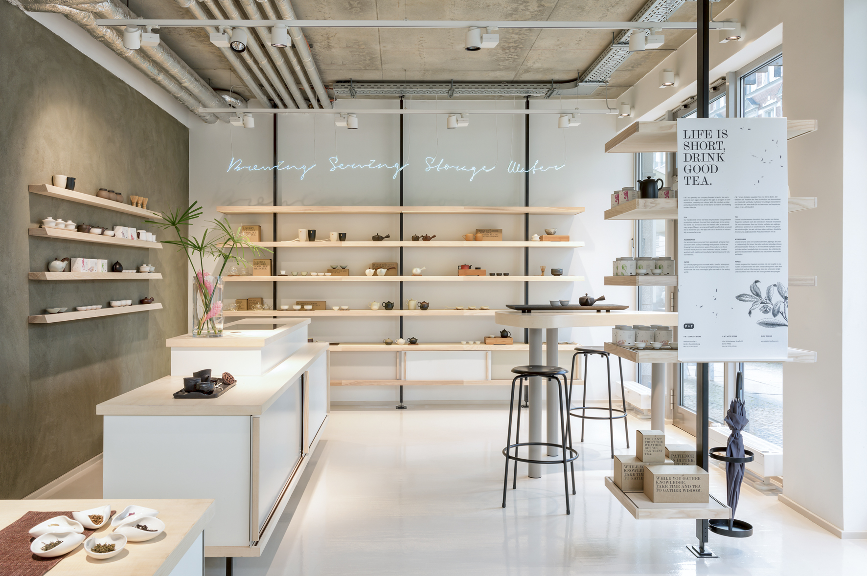 P t a place for purism tea and design an interview for Creative director of interior design