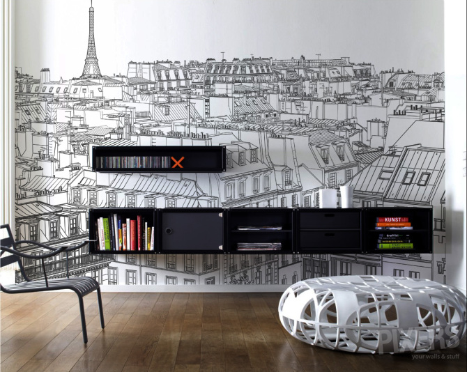 city scape wallpaper Paris
