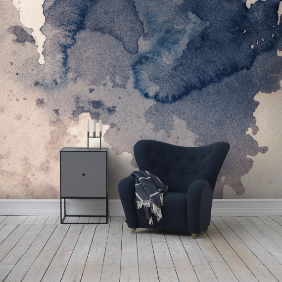 Decorating with wallpapers