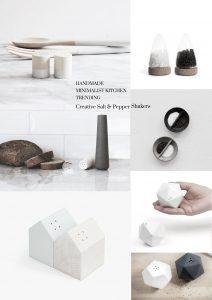 Minimalist handmade Deco for the Kitchen, minimalist kitchen