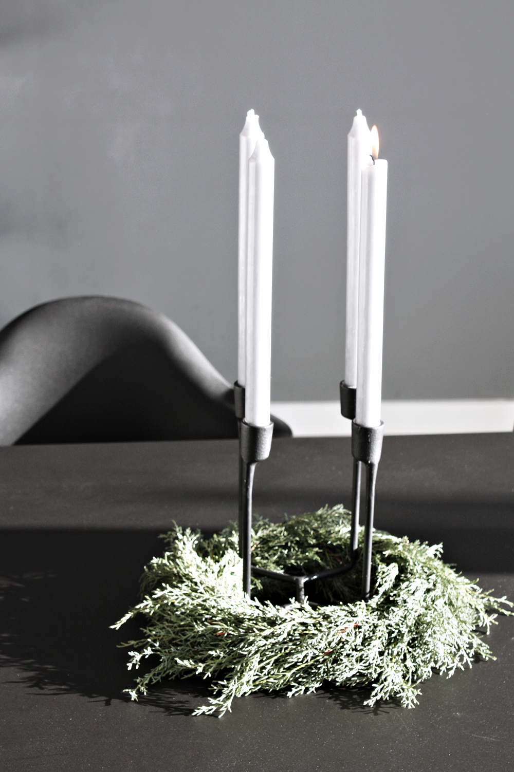 minimalist advent deco, Heima Normann Copenhagen