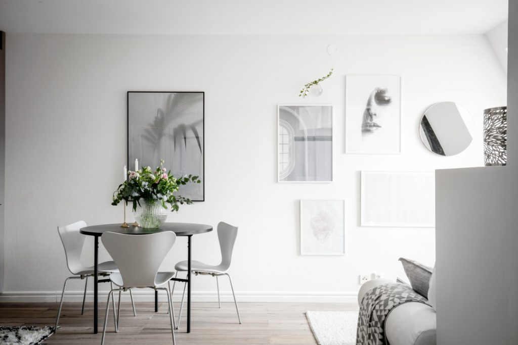 Creating an interior design for a small living space – Apartment in Gothenburg Sweden