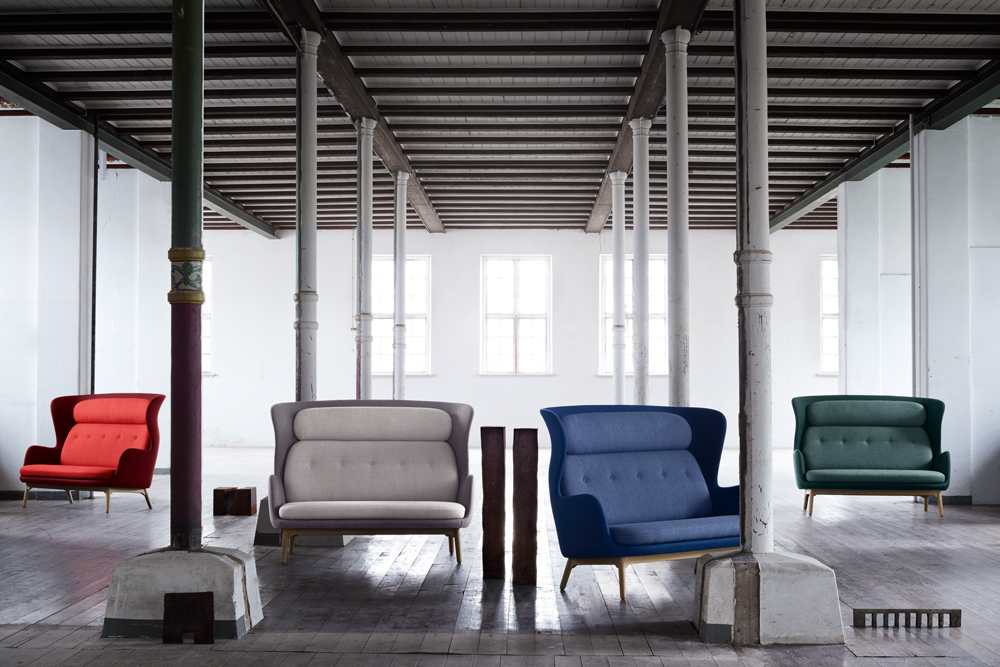 fritz hansen sessel ro 10, republic of fritz hansen introduces ro as a two-seater sofa, Design ideen