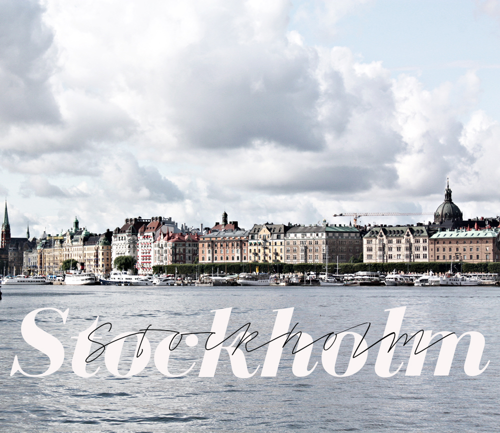 Stockholm, the nordic metropolis of tranquility
