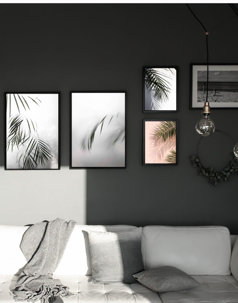 A way to choose wall art for your living or working space.