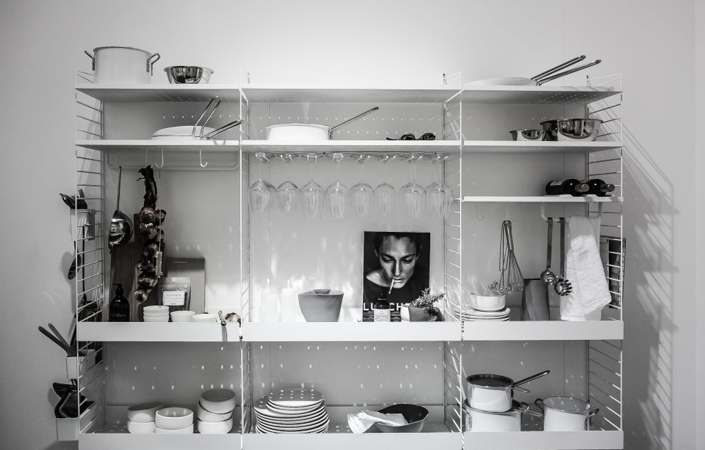 Open Shelves Styling by Lotta Agaton for String at IMM Cologne