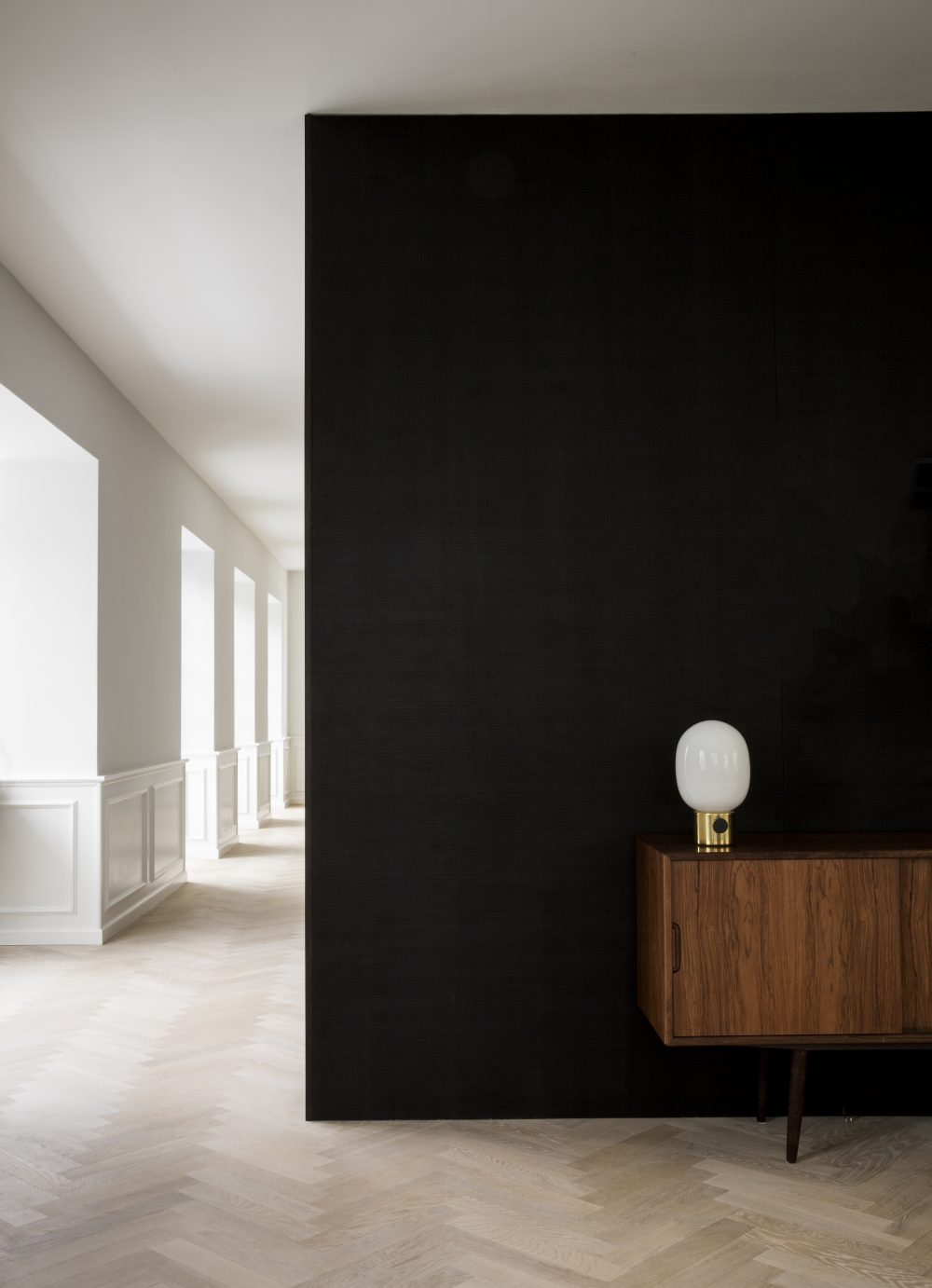Minimalist style restoration of a historic villa in Copenhagen - PH House by Norm Architects