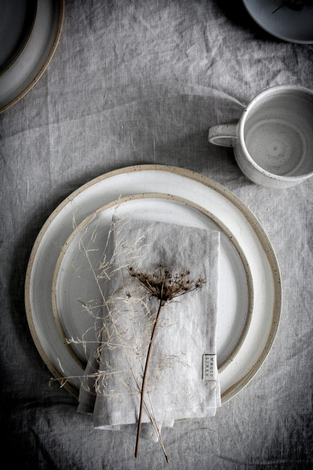 Easter Brunch - celebrating nature and serene minimalism.