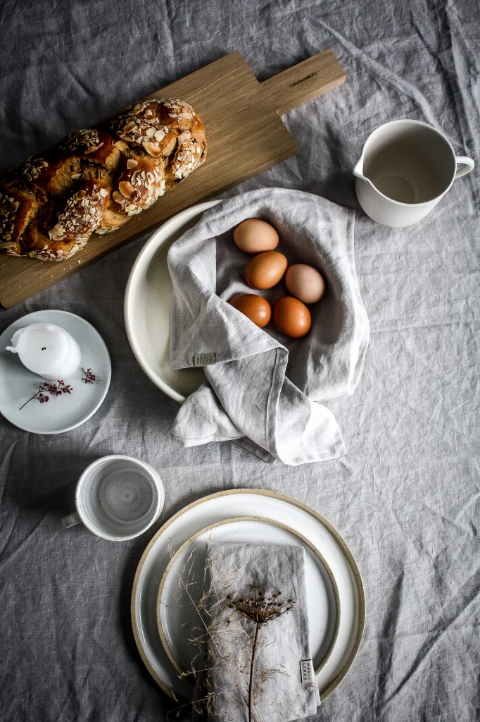 Easter Brunch Design – celebrating nature and serene minimalism.