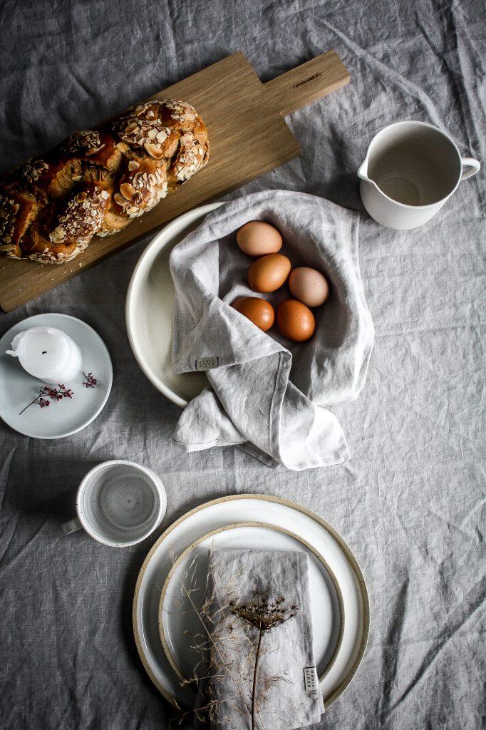 Easter Brunch – celebrating nature and serene minimalism.