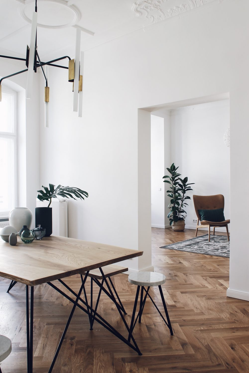 Berlin Altbau styling example by Interior stylists Salty Interiors