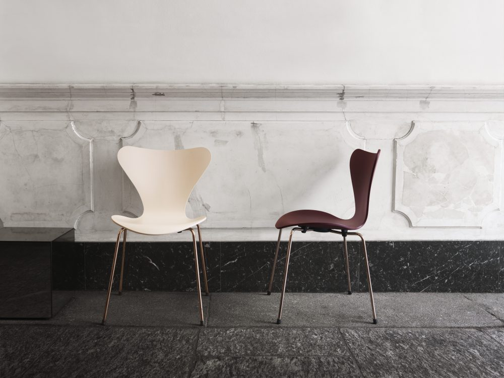 Design classics - the latest limited and anniversary editions highlights. Republic of Fritz Hansen