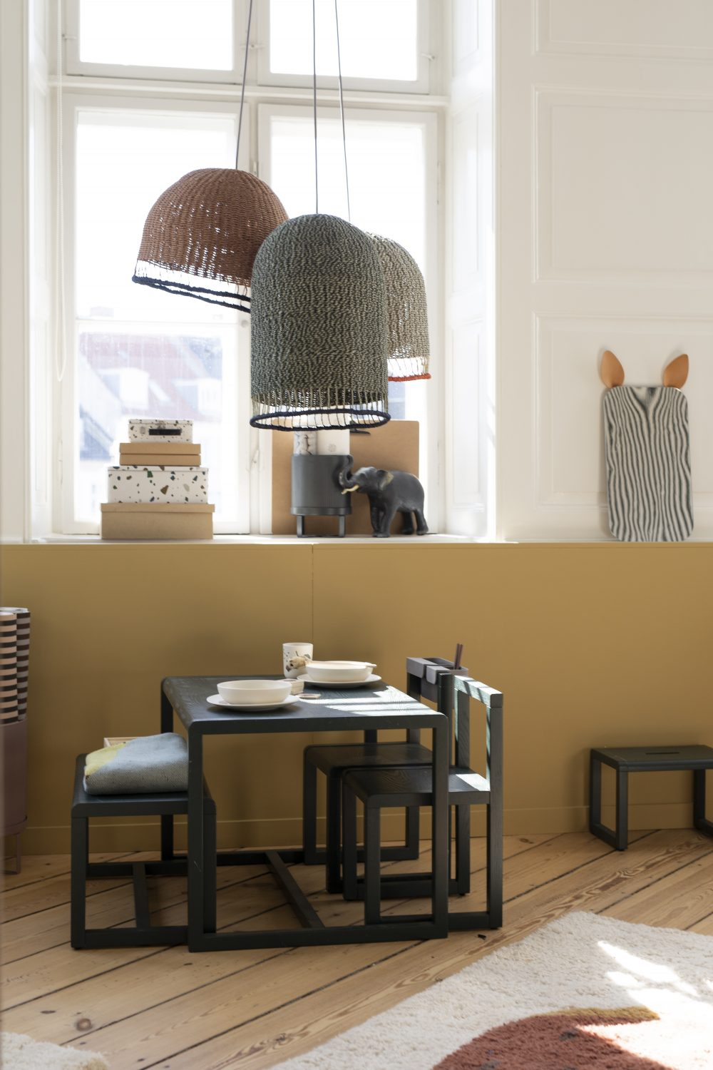 THE HOME Ferm Living Showroom in Copenhagen, Ferm Living, Scandinavian Decor, Kids Room decor