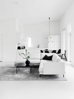 Home Tour #1 Monochrome Minimalist Family Home In Espoo Finland