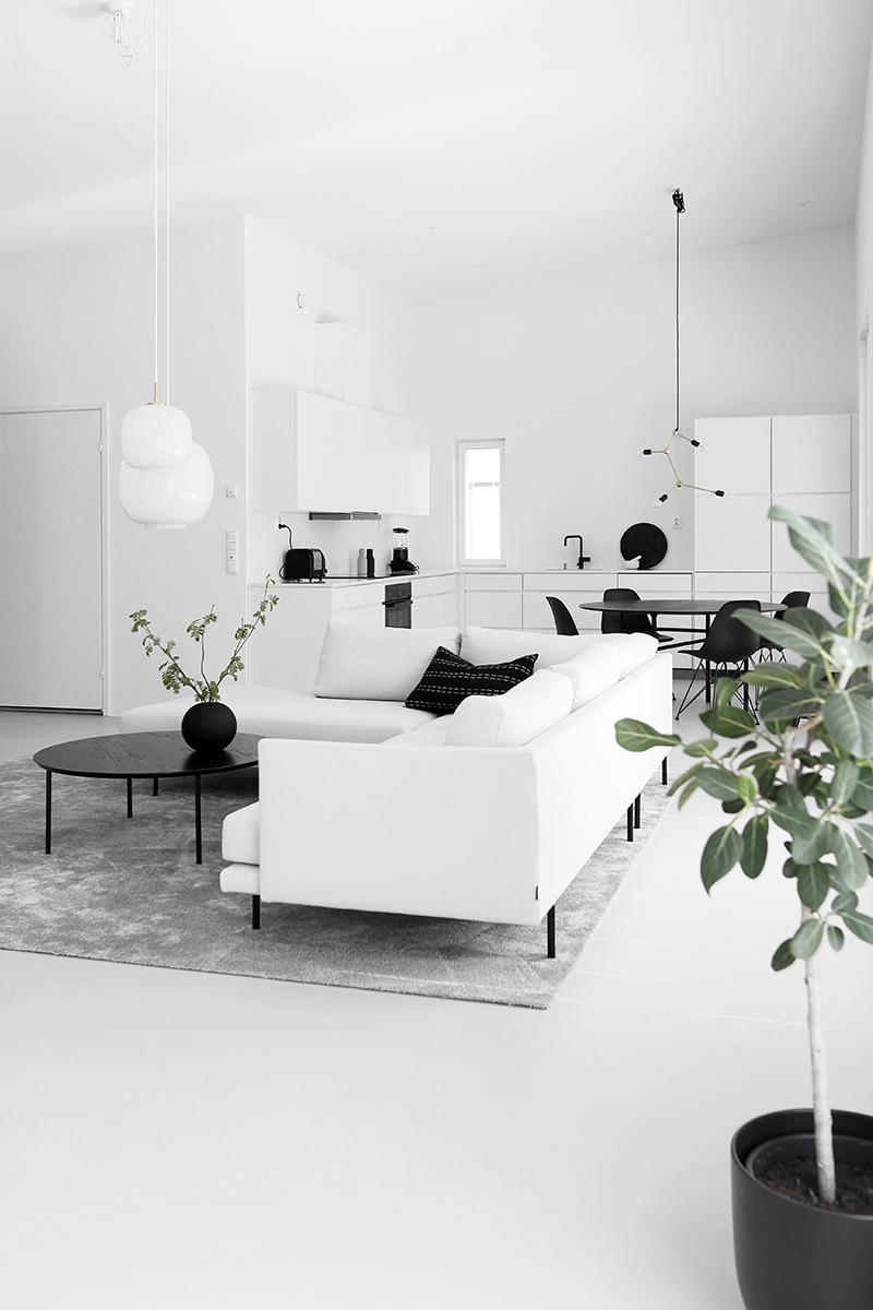 Minimalist Livingroom Home Tour