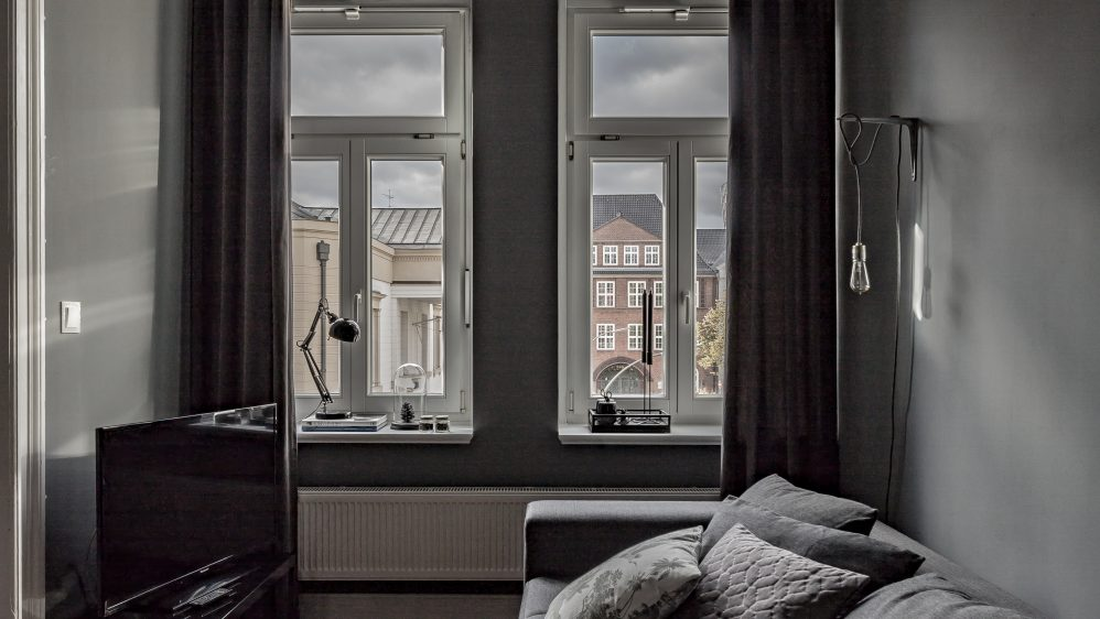 Elegant Nordic Apartment in Gray