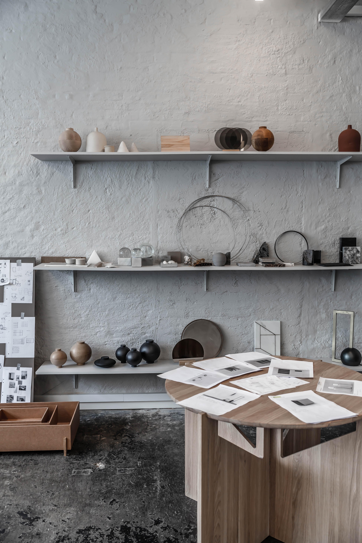The studio of Kristina Dam