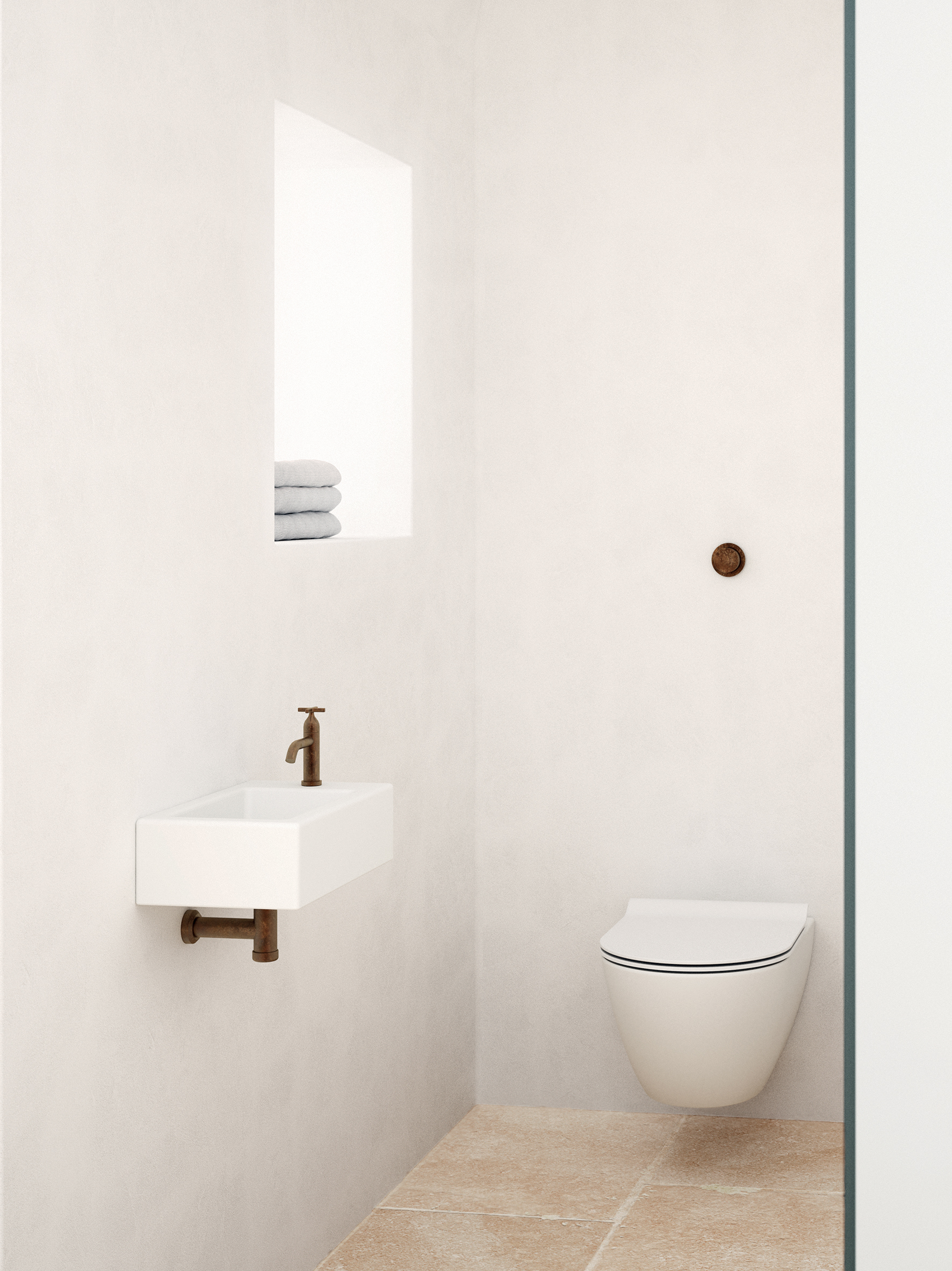 micro bathrooms, micro living, bathroom design