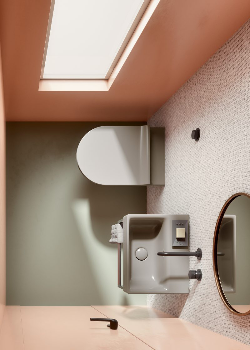 micro bathrooms design solutions GSI