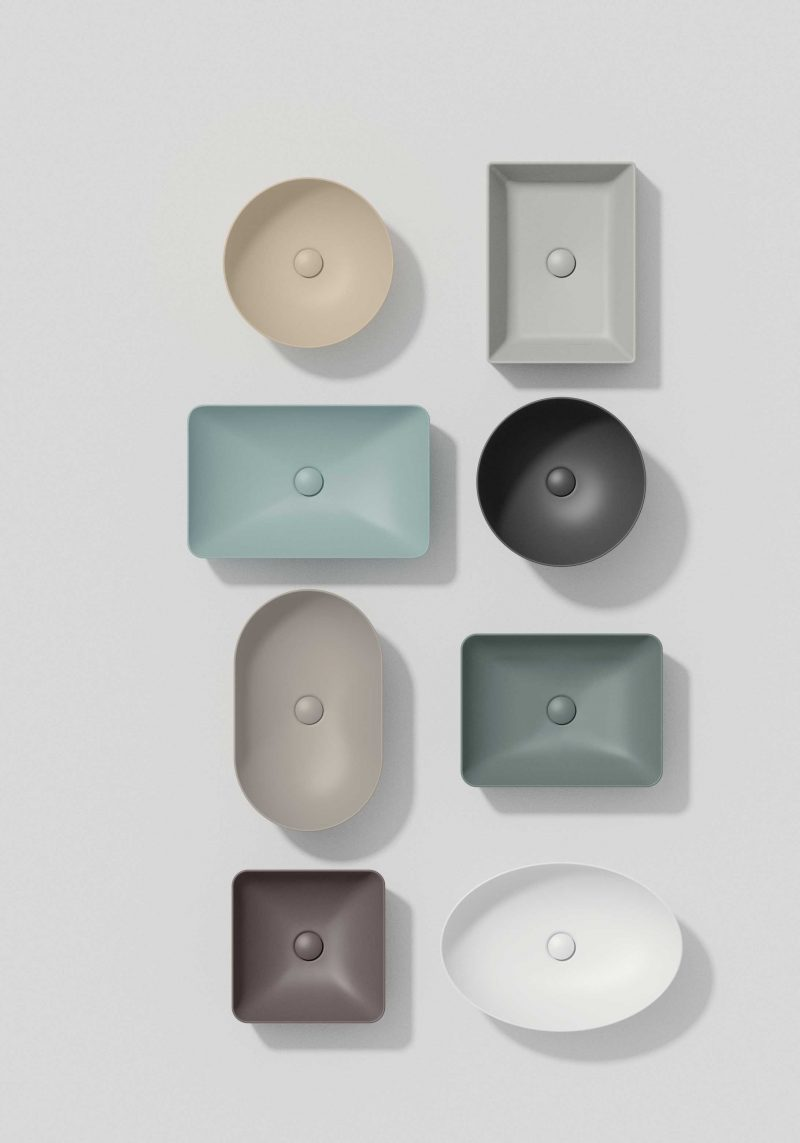 GSI Ceramica color elements, interior design for small bathrooms, bathroom, micro bathrooms, micro living