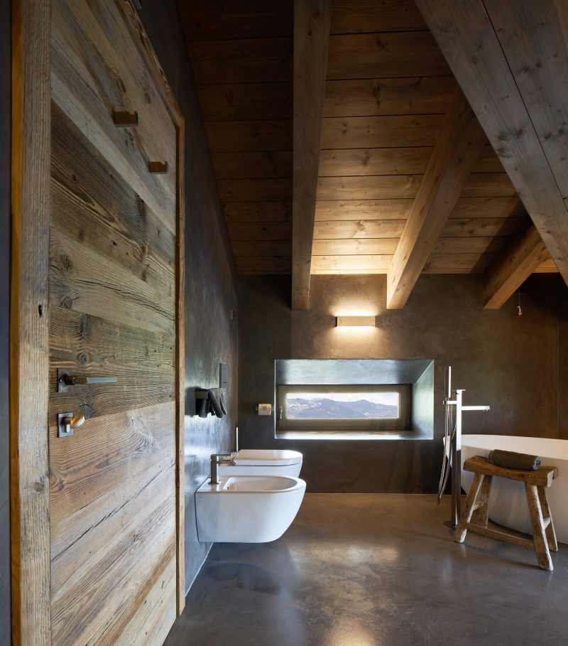 Alpine Hotel, Sunny Valley, bathroom design
