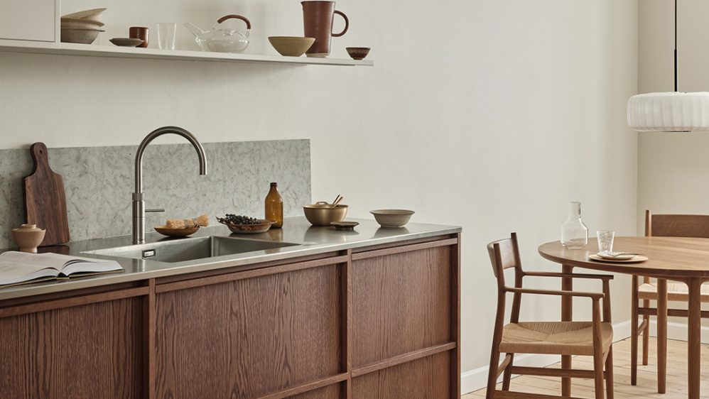 A Nordic Kitchen for the Architect's townhouse in Copenhagen